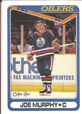 1990-91 O-Pee-Chee Main Set Joe Murphy RC #429